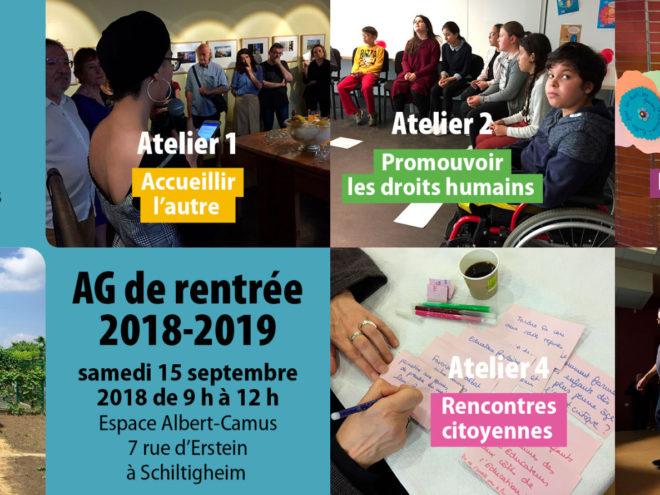 AG de rentrée 2018-2019